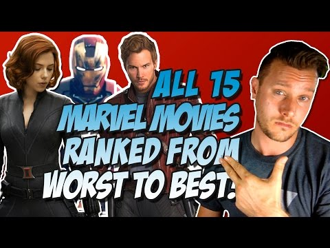 All 15 MCU Movies Ranked & Reviewed Worst to Best (with Guardians of the Galaxy Vol. 2)