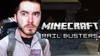 Minecraft: HIGH STAKES RAIL BUSTERS!