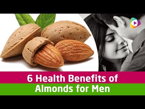 6 Health Benefits of Almonds for Men - Tubeston