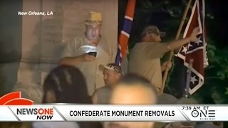 White Supremacists In New Orleans Outraged Over Confederate Monument Removals