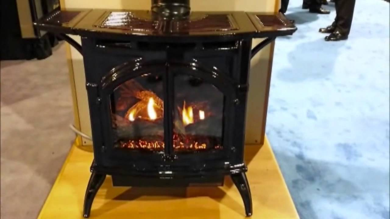 empire heritage direct vent gas stove youtube