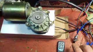 мотор редуктор дворников автобуса паз