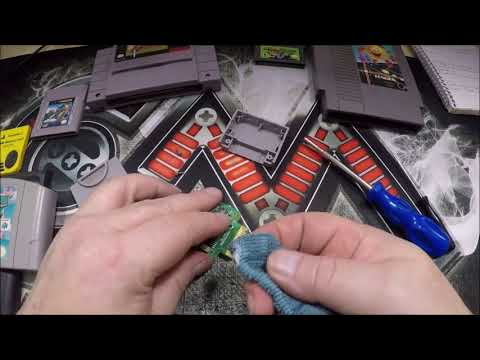 How To Clean Your Game Cartridges, NES, SNES, GameBoy, & More.