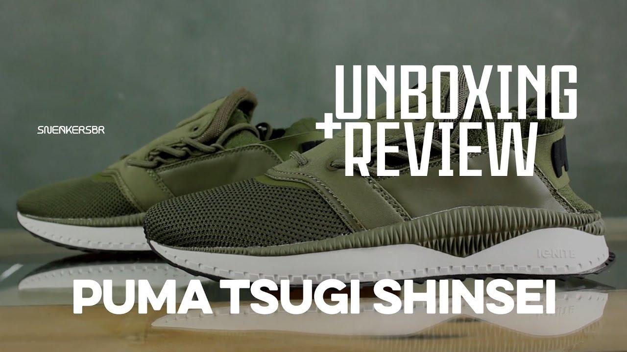 6469dc906d96fc UNBOXING+REVIEW - PUMA Tsugi Shinsei - YouTube