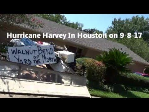 Hurricane Harvey In Houston on 9-8-17