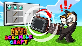 Minecraft - HOW TO CRAFT ULTIMATE TOOLS! (Scramble Craft)