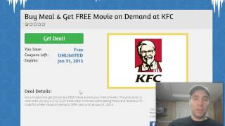 Where to find KFC coupons online in Canada