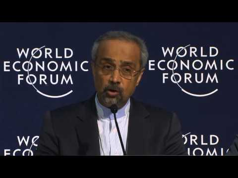 Davos 2016 - Press Conference with the Foreign Minister of the Islamic Republic of Iran