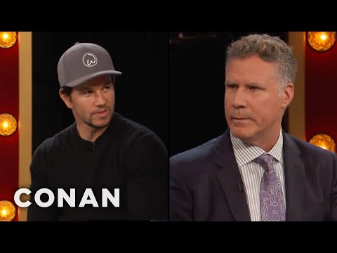 Will Ferrell: Mark Wahlberg Is A Perfect Human Being  - CONAN on TBS