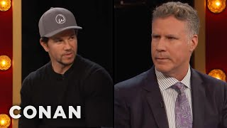 connectYoutube - Will Ferrell: Mark Wahlberg Is A Perfect Human Being  - CONAN on TBS
