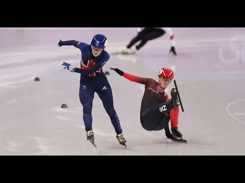 Elise Christie live Winter Olympics speed skating semi final updates and reaction