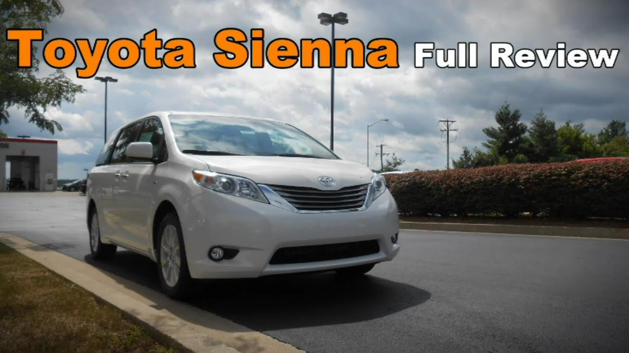 2017 Toyota Sienna Full Review L Le Se Xle Limited Premium You
