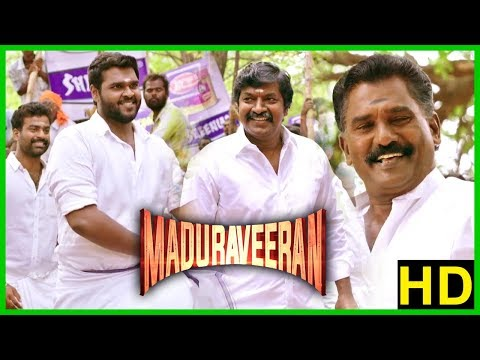 Madura Veeran Climax Scene | Shanmuga Pandian successfully conducts Jallikattu | End Credits
