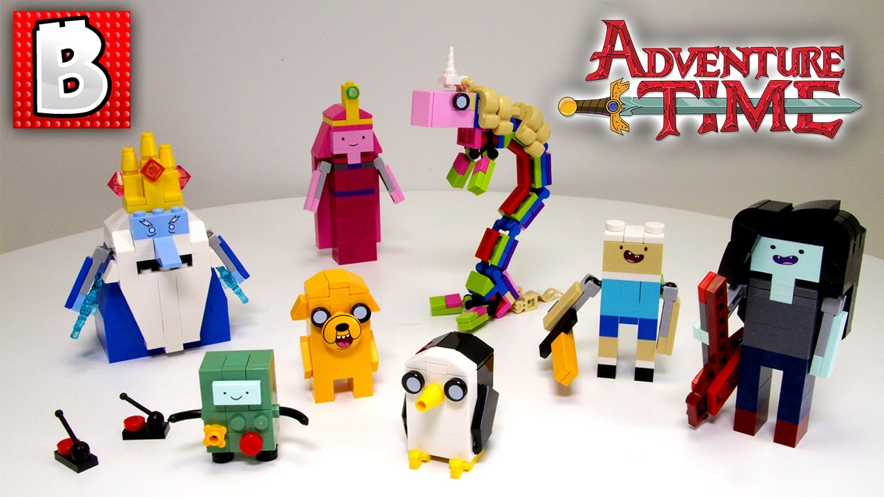 LEGO Adventure Time Ideas Set 21308 !!! | Unbox Build Timelapse Review