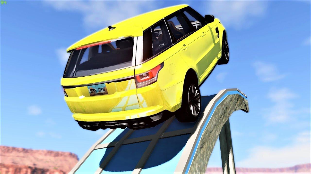 High Speed Jumps Crashes #43 - BeamNG Drive   CRAShdriven