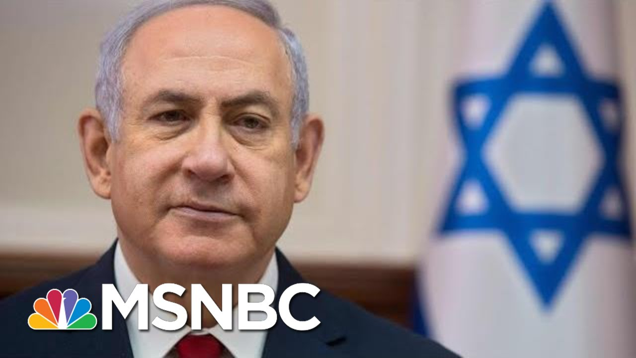 Israeli Prime Minister Benjamin Netanyahu Indicted For Bribery And Fraud | Velshi & Ruhle | MSNB
