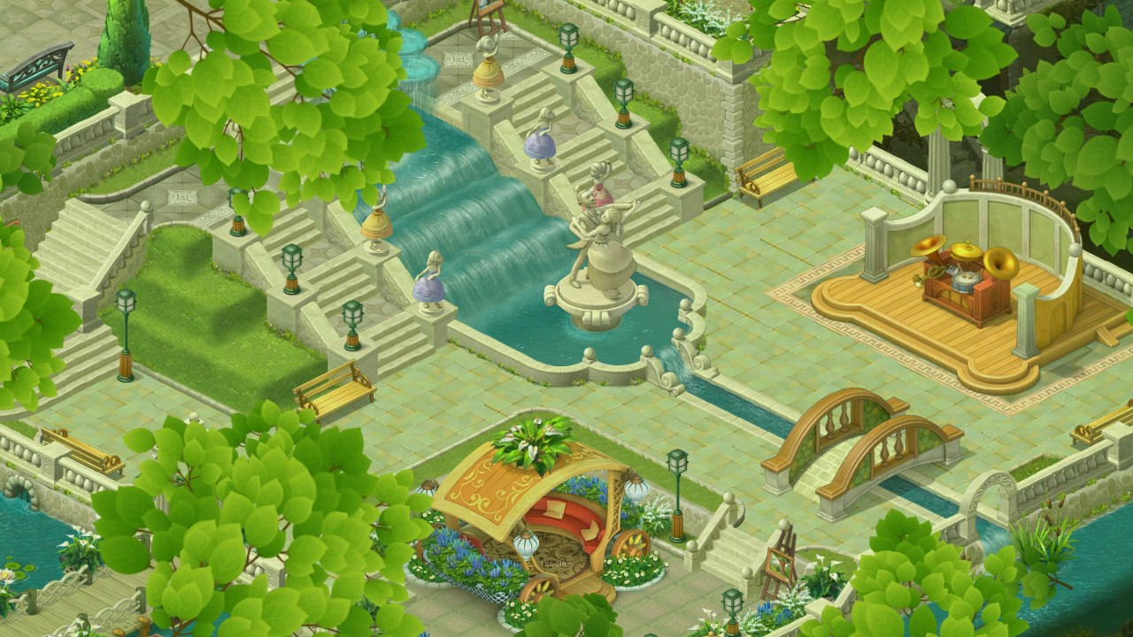 Gardenscapes Level 29