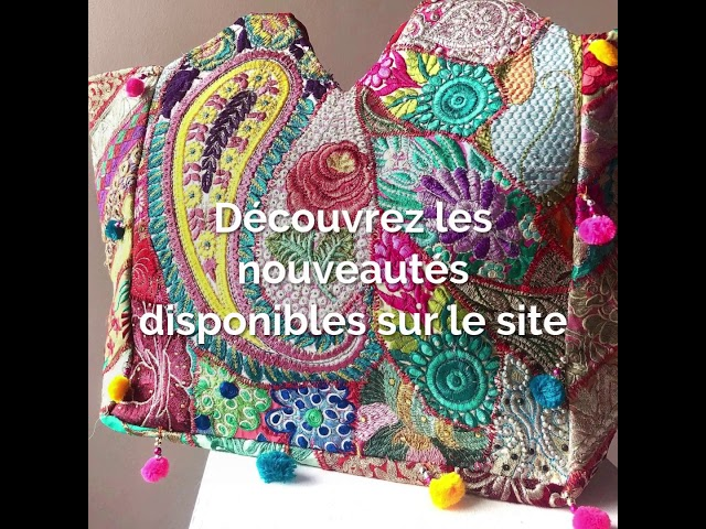 Collection Summer 2020 : Robes longues d'été - Sac ethnique