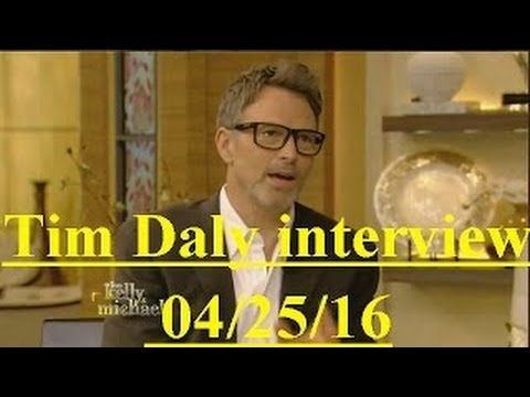 Tim Daly  Live! With Kelly and Michael 042516