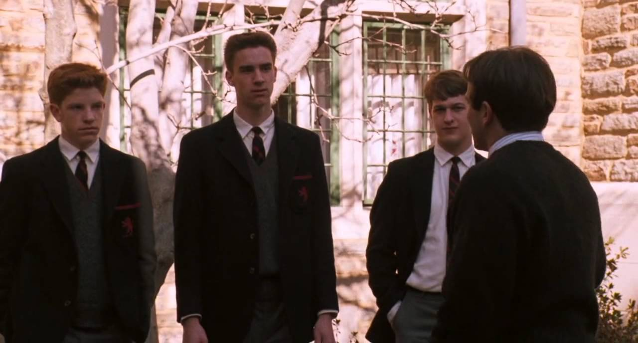 an analysis of conformity in dead poets society I think i hate dead poets society for the same reason that robyn, a physician assistant, hates house: because its portrayal of my profession is both misleading and deeply seductive for what keating (robin williams) models for his students isn't literary criticism, or analysis, or even study in fact, it's not.