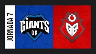 Giants vs. G2 Vodafone [Cache] ESL Masters CS:GO Temporada 2 - Jornada #7