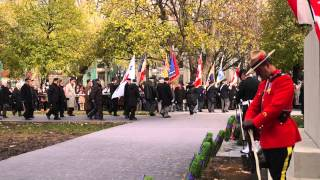 Remembrance Day 2013 Ceremonies At McGill University Campus Montreal 36