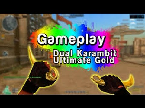 [CFFG]Gameplay//Dual Karambit Ultimate Gold