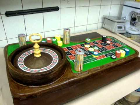 Cake Boss Decorating Table : Roulette Table Cake - YouTube