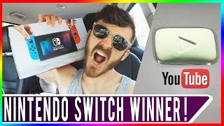 NINTENDO SWITCH GIVEAWAY WINNER! Special Thank You to 100K Subscribers 💯 Pokemon GO Daily Adventure