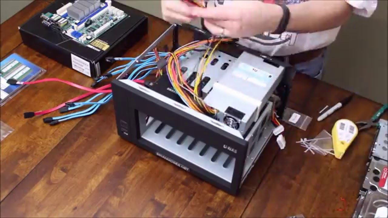 Brians Diy Nas 2016 Edition Assembly Time Lapse Youtube Circuit Breaker