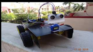 Arduino Project - Obstacle Avoiding Car