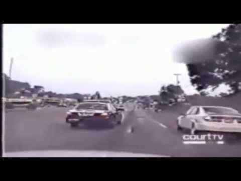 Most Shocking: High speed horse trailer police chase