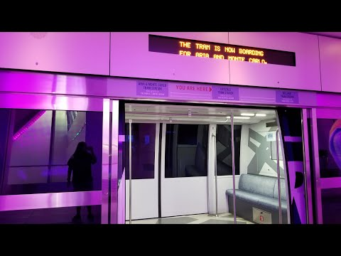 Aria Express Tram - Aria/Monte Carlo to Bellaggio - Las Vegas, NV