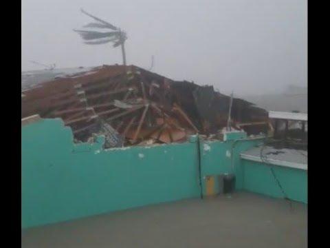 Ураган Дориан добрался до Багамских островов, 1 сентября