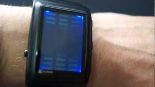 Kisai OTO Sound Sensitive Equalizer Watch Design from Tokyoflash Japan