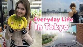 My Everyday life in Japan - cheapest groceries in Tokyo!  || Sam in Tokyo