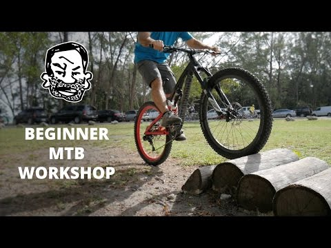 Riding over stuff on a MTB - Mountain Biking Explained EP4