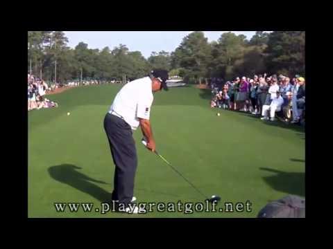 Angel Cabrera Driver Swing 2013 - Masters