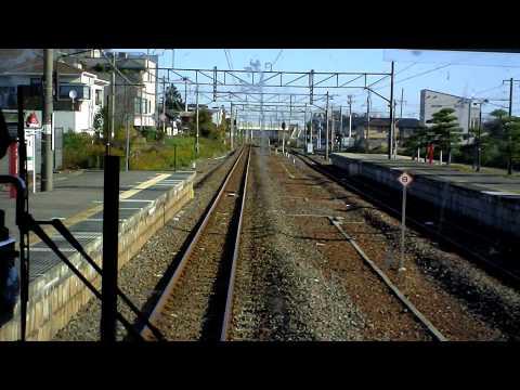 Nov.2011 常磐線下り415系勝田→日立前面展望 Joban Line Cabview Katsuta→Hitachi