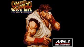 SNES MSU1 Super Street Fighter II: The New Challengers