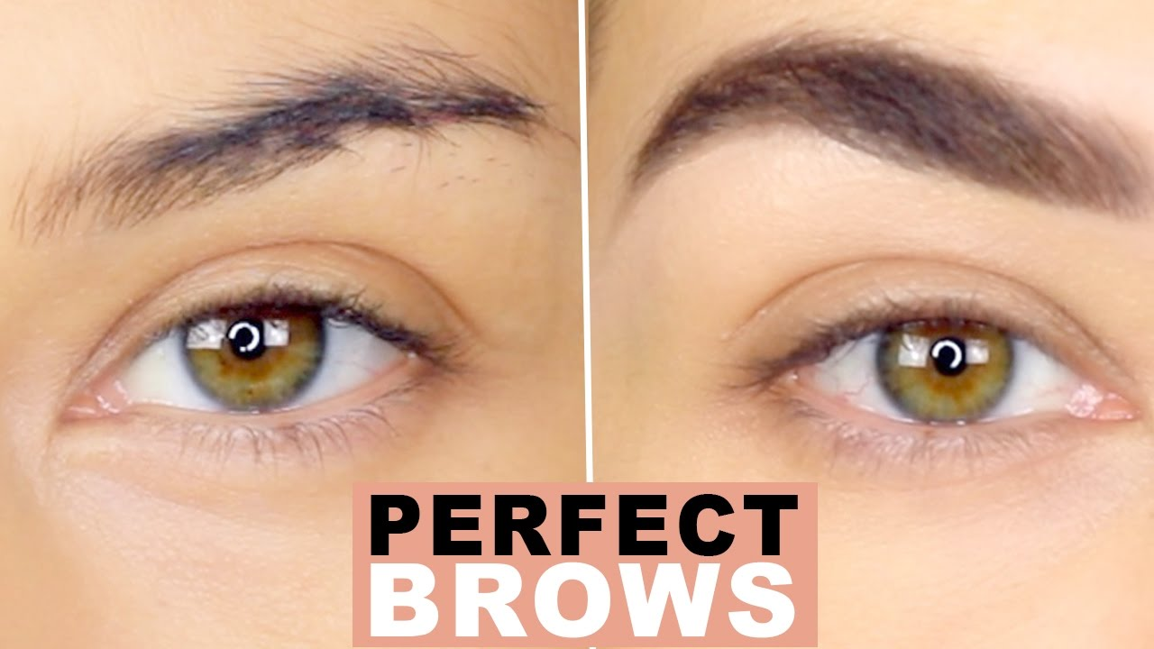 How To Perfect Natural Brows Eyebrow Tutorial How To Groom