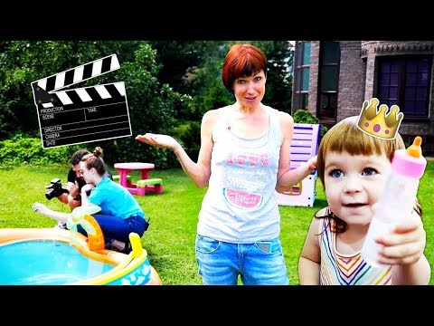 Наша съемочная площадка - Бьянка и Маша Капуки проводят экскурсию - Влог