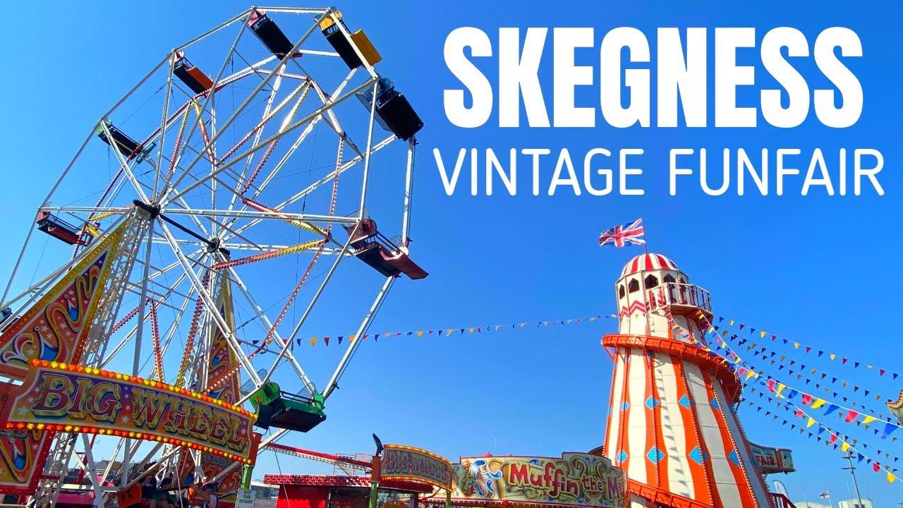 Skegness Vintage Funfair Vlog July 2020