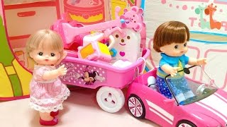 メルちゃん お引越し いちごのおおきなおうち キッズテント / Mell-chan Dollhouse Moving : New Play Tent thumbnail