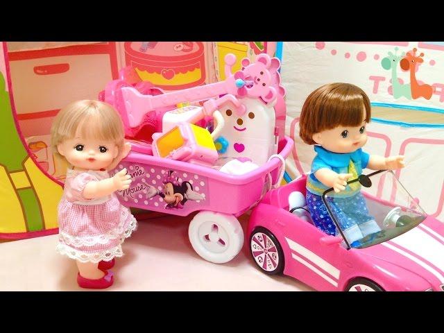 メルちゃん お引越し いちごのおおきなおうち キッズテント / Mell-chan Dollhouse Moving : New Play Tent