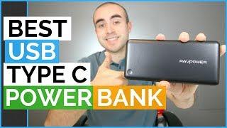 Best USB Type C Power Bank - RAVPower 20100 mAh Portable Charger