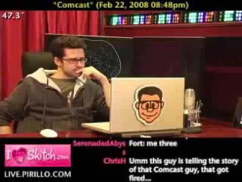 Comcast Technician Falls Asleep The Interview - YouTube