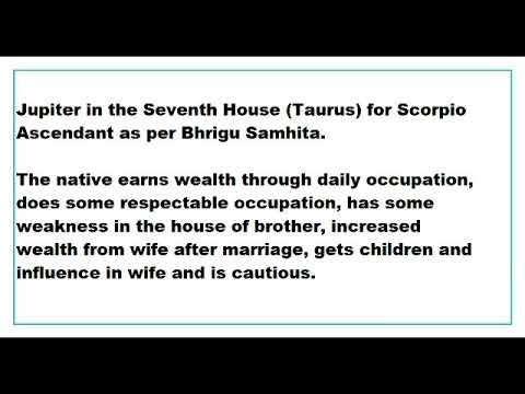 Scorpio In 7th House