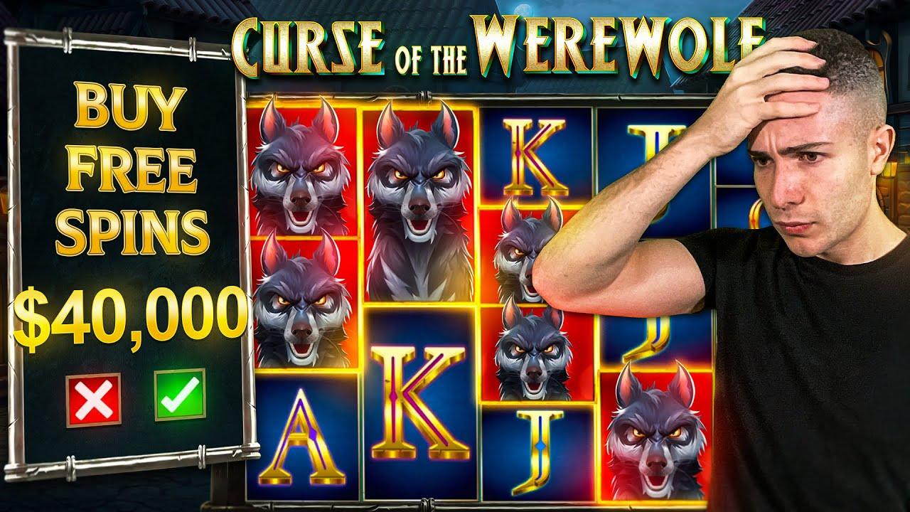 $40,000 Bonus Buy on CURSE OF THE WEREWOLF 🐺 (40K Bonus Buy Series #03)