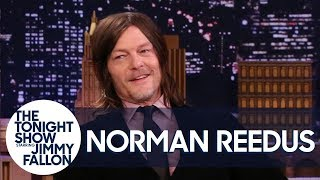 Norman Reedus Went Motorcycle Drifting in Tokyo During a Snowstorm
